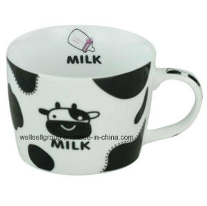 Promotional Porcelain Sublimation Milk Mug (CPBZ-4014) pictures & photos