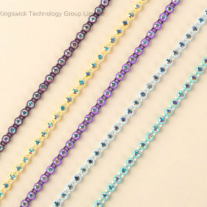 Rhinestone Banding, Rhinestone Chain Trimming in Roll pictures & photos