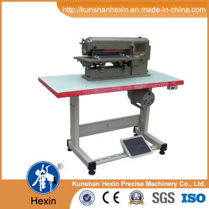 Fast with High Efficiency Leather Slitting Machine pictures & photos