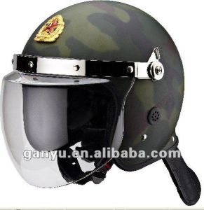 Camouflage Military Riot Control Helmet Sale pictures & photos