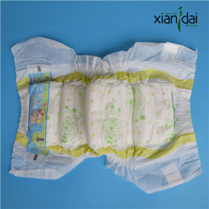High Quality Breathable Baby Diaper for Unisex