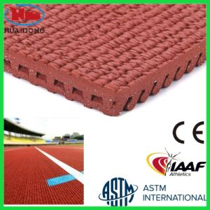 Synthetic Rubber Prefabricated Athletic Tracks for Sports Court pictures & photos