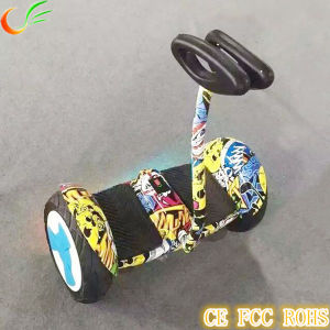9th Foot Controlled Newest Arrival Smart Scooter 10 Inch pictures & photos