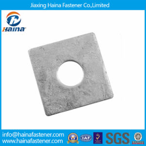 Hot DIP Galvanized Square Flat /Plain Washers pictures & photos