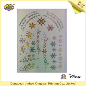 Gold and Silver Shining Body Tattoo Stickers for Girls (JHXY-TT0019) pictures & photos