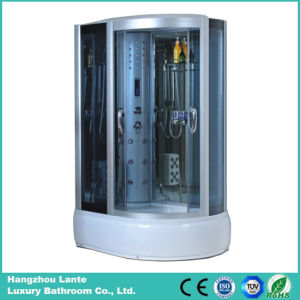Cheap Price Tempered Glass Steam Shower Cabin pictures & photos