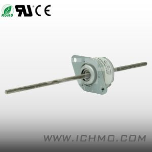 Linear Pm Stepper Motor with Long Screw Shaft pictures & photos