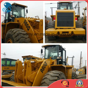 Tractor-Scraper 5ton 2008/6000hrs Used Caterpillar 980g Front-Discharging Wheel Loader pictures & photos