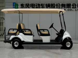 6 Seater Electric Golf Car/Vehicle with CE Certificate
