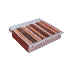 200W Copper Pipe Embodied Heat Sink Aluminum Enclosure