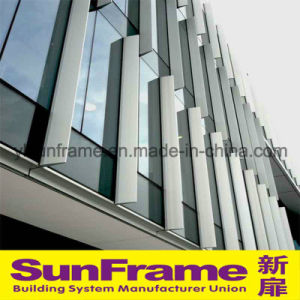 Aluminium Unitized Glazing Window Curtain Wall System pictures & photos