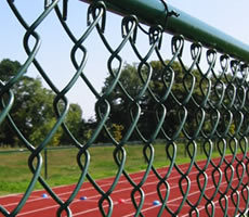 Hot Sale for PVC Coated Wire Mesh Chain Link Fence pictures & photos