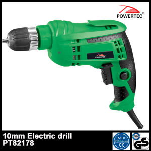 Powertec 600W 10mm Electric Hand 10re Drill (PT82178) pictures & photos
