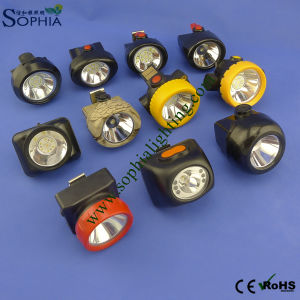 New IP68 Rechargeable LED Head Lamp Cap Lamp pictures & photos