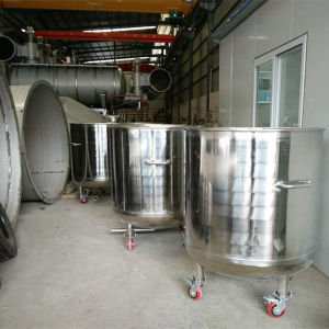 Customized Movable Stainless Steel Tank to Storage Liquid
