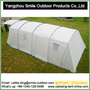 Glamping Bell Large Cotton Canvas Tunnel Luxury Family Tent pictures & photos