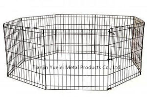 Dog Kennel Cage Fence Pet Enclosure Safe Dogs Run Box Exercise Pen Outdoor Yard pictures & photos