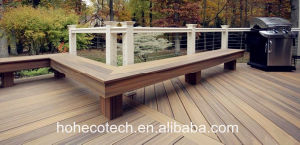 Contemporary Deck Treated Wood Alternatives WPC 100% Non-Toxic Deck pictures & photos