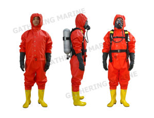 Rubber PVC Light Duty Type Chemical Protective Suit for Sale pictures & photos