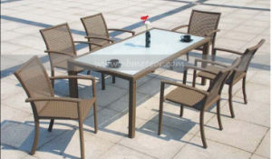 Mtc-146 Outdoor Rattan Dining Set for Gardern pictures & photos