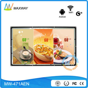47 Inch Open Frame Android Network LCD Advertising Display with 3G 4G WiFi Touchscreen pictures & photos