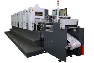 Waterless Offset Intermittent Label Printing Machine (JJ380) pictures & photos