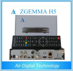 Full Channels High-Tech Zgemma H5 FTA Cable Box with Hevc/H. 265 DVB-S2+T2/C Twin Tuners pictures & photos