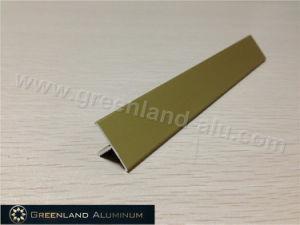 T Floor Aluminum Transition Tile Edge Trim Matt Gold pictures & photos