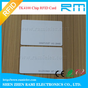 RFID Hf 13.56MHz & Lf 125kHz Hotel Key Card pictures & photos