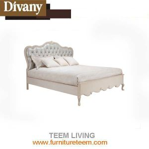 2016 New Style for Home Use Leather French Style Bed pictures & photos