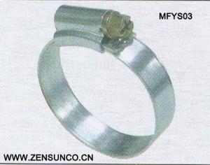 English Type High Quality Worm Drive Hose Clamp9.7mm 11.7mm Mfys03 pictures & photos
