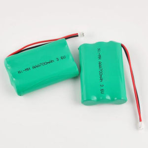 Rechargeable AAA 3.6V 700mAh NiMH Battery for Cordless Phone pictures & photos