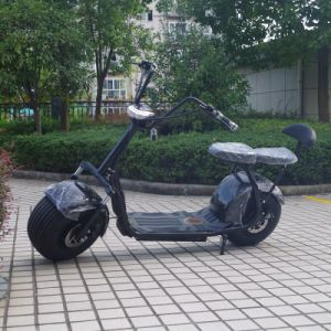 China 1000W Two Seats Fat Tire Citycoco Scooter (JY-ES005) pictures & photos