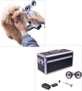 LED Handheld Slit Lamp (binocular and portable) for Pets pictures & photos