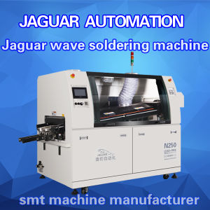 Econimic Small Size Lead Free Wave Solder Machine (Jaguar N250) pictures & photos