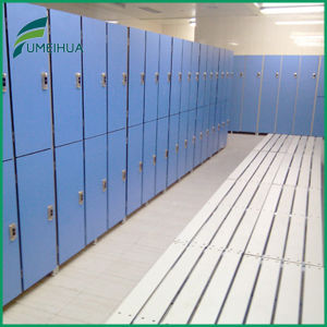 Fumeihua Durable High Pressure Laminate 2 Doors School Locker with Pad Lock pictures & photos