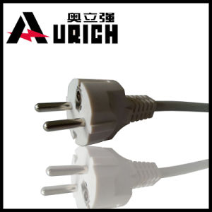 European Three Pins AC Power Plug pictures & photos