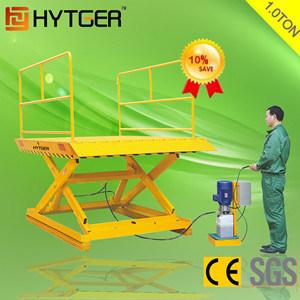 Cheap Single Stationary Hydraulic Scissor Lift (SJG10) pictures & photos