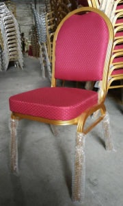 Foshan Wholesale Red Aluminium Hotel Banquet Chair (CY-8030) pictures & photos