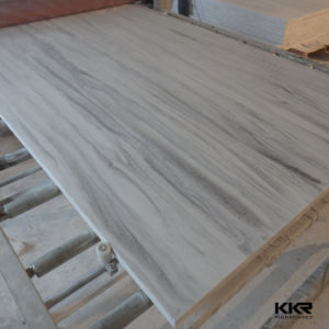 Marble Veining Pattern Artificial Stone Acrylic Solid Surface Sheets (171120) pictures & photos