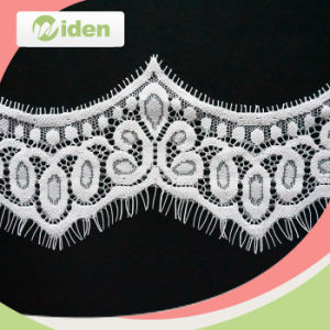 7cm Popular Beautiful Flower Design French Eyelash Lace pictures & photos