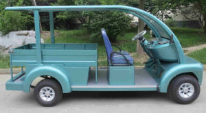 Electric Car with Cargo Box for Hotel, People Mover pictures & photos