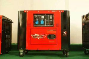 7kVA New 192f Model Engine Super Silent Diesel Generator pictures & photos
