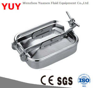 Sanitary Stainless Steel Square Manhole Cover (Manway)