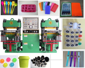 Heating Platen Rubber Silicone Wristband Making Machine Made in China pictures & photos