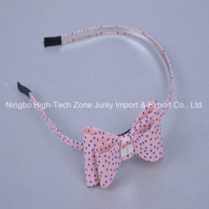 Pink, Blue DOT, Bowknot Shape, Head Hoop, Elegant Style Hair Accessories, Tiaras