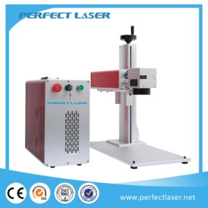 Jewelry Numbering Plastic Name Plate Fiber Laser Marker with Ce pictures & photos