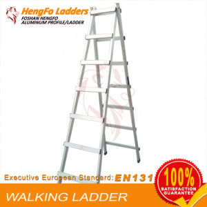 7 Steps Climbing Ladder Is Made of Aluminum Alloy pictures & photos