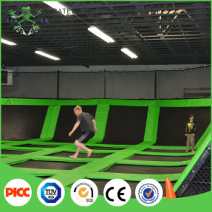Xiaofeixia Rectangle Trampoline Children Mini Indoor Trampoline Park with Foam Pit pictures & photos