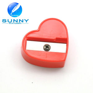 Heart Shape Funny Big Pencil Sharpener for Promotion pictures & photos